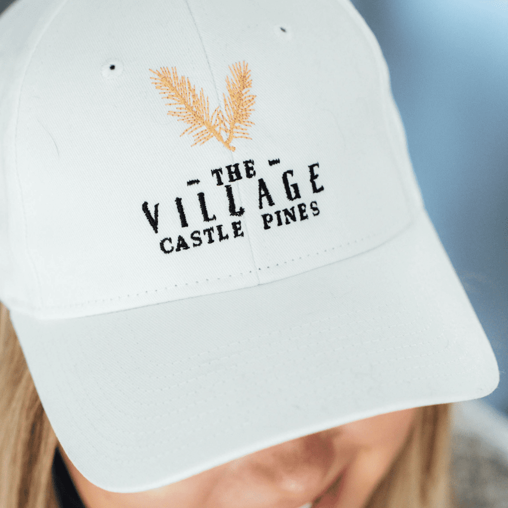 Embroidered Baseball Cap Village at Castle Pines merchandise